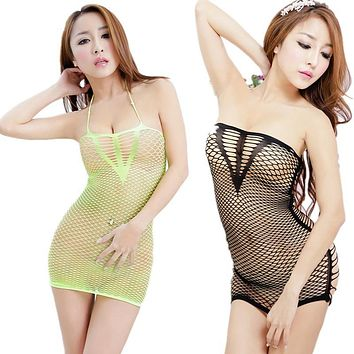 Women's Clothing Sexy Nightgowns & Sleepshirts Women Nightgowns Hollow sexy night skirt underwear