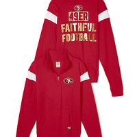 4119ebc9 San Francisco 49ers Pullover Hoodie - from VS PINK | 49ers