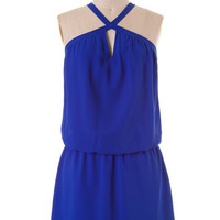 Summer Picnic Dress - Royal