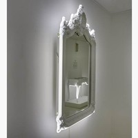 Neo Neon High Voltage Vanity Mirror