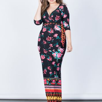 Plus Size Sweet Romance Dress