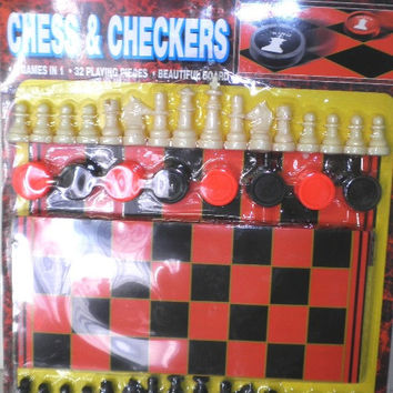 chess and checkers board game kit Case of 60