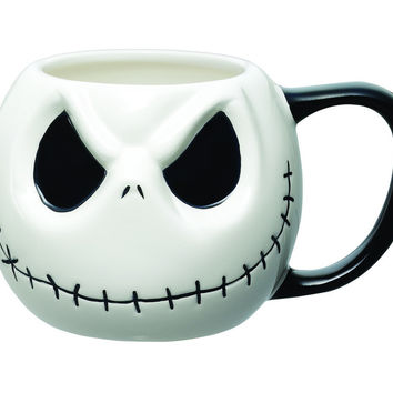 The Nightmare Before Christmas Cartoonize Jack Skellington Coffee Mug