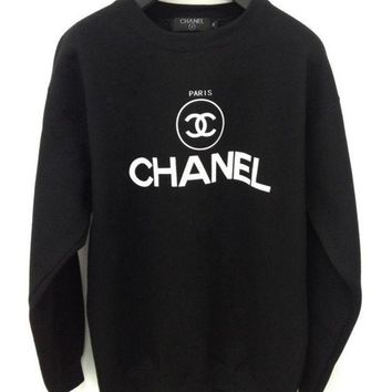One-nice™ CHANEL Fashion Casual Sport Top Sweater Pullover Sweatshirt
