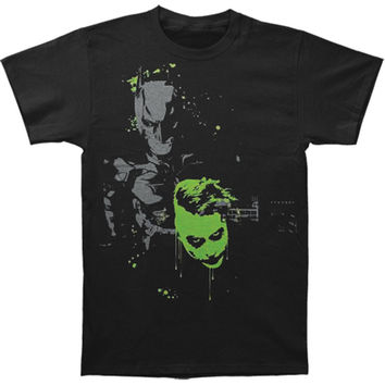 Batman Men's  Joker Spoils The Fun T-shirt Black Rockabilia