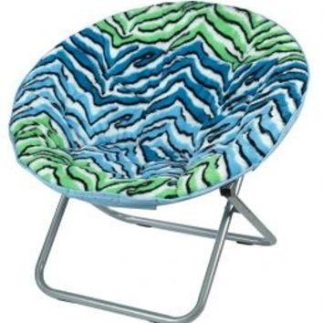 Turquoise Zebra Saucer Chair | Girls Room Decor Beauty, Room & Toys | Shop Justice