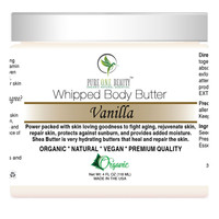Vanilla <br> Whipped Body Butter