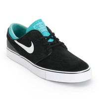 Nike SB Zoom Stefan Janoski Black, White, & Turbo Green Skate