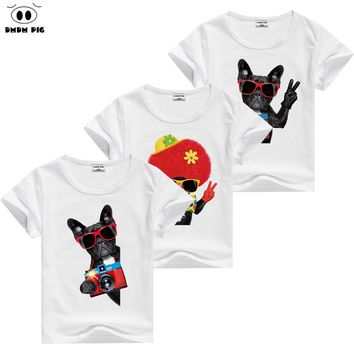DMDM PIG 2017 Teenage T Shirts Kids T-Shirts For Boys Girls Tops Children's Clothes Baby Boy Girl TShirt 3 4 5 6 7 8 9 10 Years