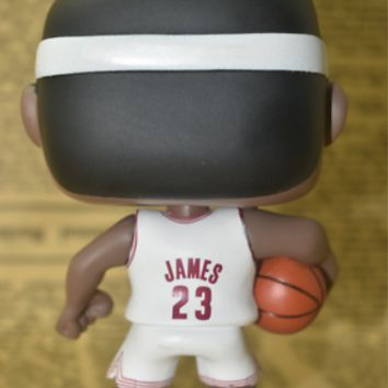 Funko Pop! Sports #01 NBA Cavaliers Lebron James WhiteJersey Brand-NewExclusive