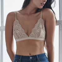 Nollie Lace Triangle Bralette at PacSun.com