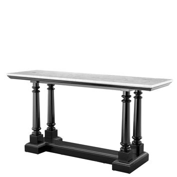 White Marble Console Table   Eichholtz Walford