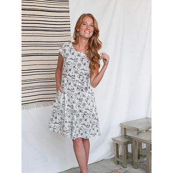 Mata Traders Lovely Lines Dress Voyager
