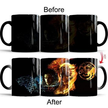 Game of Thrones Color Changing Mug Coffee Tea Mug Creative Gifts (Size: Mug)