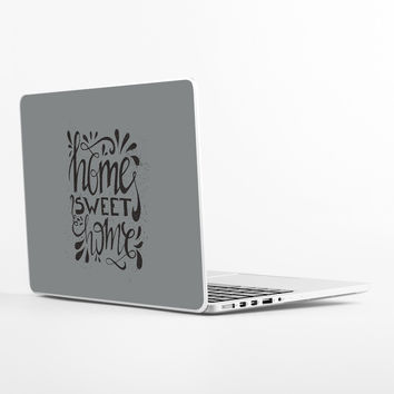 Hand Lettered Home Laptop Skin