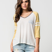 BILLABONG Morning Sunshine Womens Raglan Tee | Raglans & L/S Tees