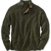 Wool Cashmere Sweater / Merino/Cashmere Donegal Sweater -- Orvis