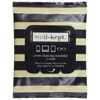 Well-Kept Screen Cleansing Towelettes (15 towelettes