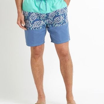 Pieced Batik Bungalow Shorts