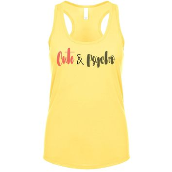 Cute And Psycho Women's Tank