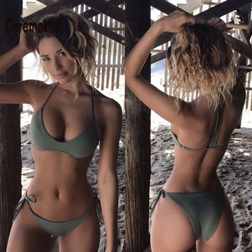 Perfectly Fitted Olive Bikini