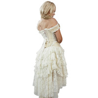 Burleska Ophelie Dress (Cream)