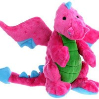 goDog Baby Dragon Plush Dog Toy Size: Large Pink