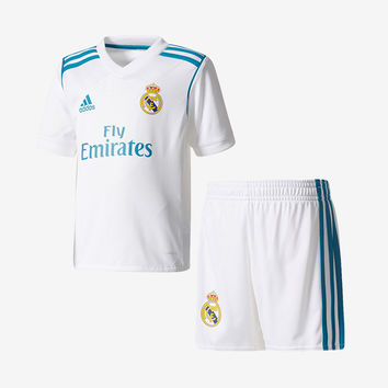 Real Madrid 2017-18 Mini Home Kit