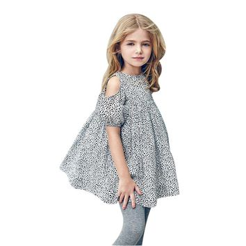 Right Away Leopard  Princess Dress
