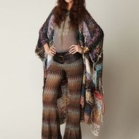 Free People Zig Zag Lurex Pant at Free People Clothing Boutique