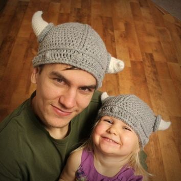 Instant Download  Crochet Pattern  Lael Viking Hat by Mamachee