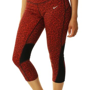 Nike Women's Racer Crop 3.0 Dri-Fit Stay Warm Leggings