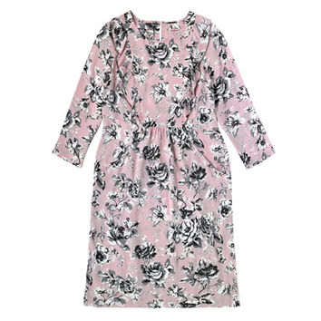 Etched Floral Tunic Dress   Dresses   CathKidston