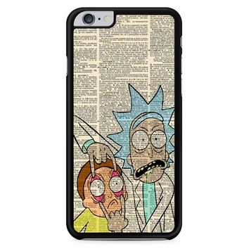 Rick And Morty Dictionary Art iPhone 6 Plus / 6s Plus Case