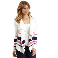 Striped Flyaway Cardigan