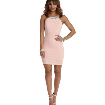 Pink Class And Sass Bodycon Dress