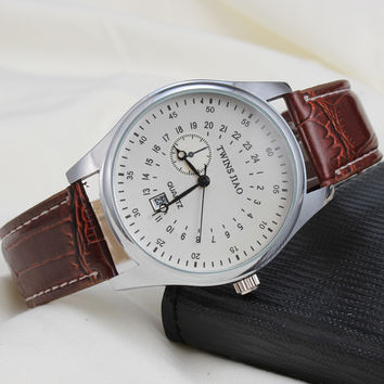 Great Deal Stylish Gift Trendy New Arrival Awesome Good Price Designer's Korean Dial Watch [4915484164]