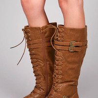 Battalion Knee High Boots