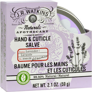 J.R. Watkins Hand and Cuticle Salve Lavender - 2.1 oz
