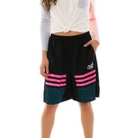 Time Stretch Basketball Shorts (black)