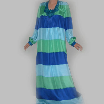 Long silk kaftan dress, jalabiya,extra long summer dress .