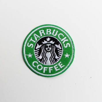 STARBUCKS Patch....Iron On About 3 inches
