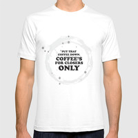 glengarry glen ross - coffee's for closers only T-shirt by g-man