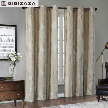 Pandora Jacquard window curtains heavy fabric high quality with silver wire embed 60%