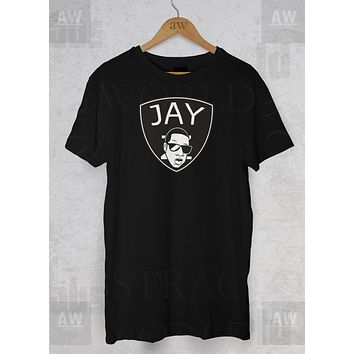 Jay Z Brooklyn Nets On The Run Adult Unisex T Shirt
