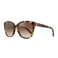 bayleigh butterfly sunglasses, havana - kate spade new york - Havana