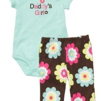 Carter's Bodysuit & Pant Set - Daddys Girl-9M