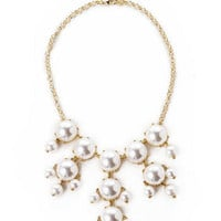 Fifth Avenue Pearl Statement Necklace