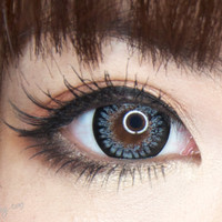 GEO Princess Mimi Sesame Grey Circle Lenses Colored Contacts Cosmetic Color Circle Lens | EyeCandy's