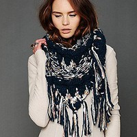 Free People Clothing Boutique > Space Dye Fringe Scarf